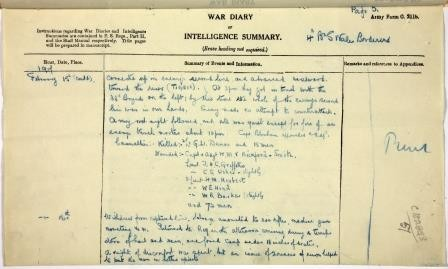 War_Diary_entry_for_15_Feb_1917_ 3)